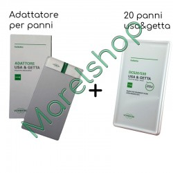 Adattatore + 20 panni usa e getta SP520/530